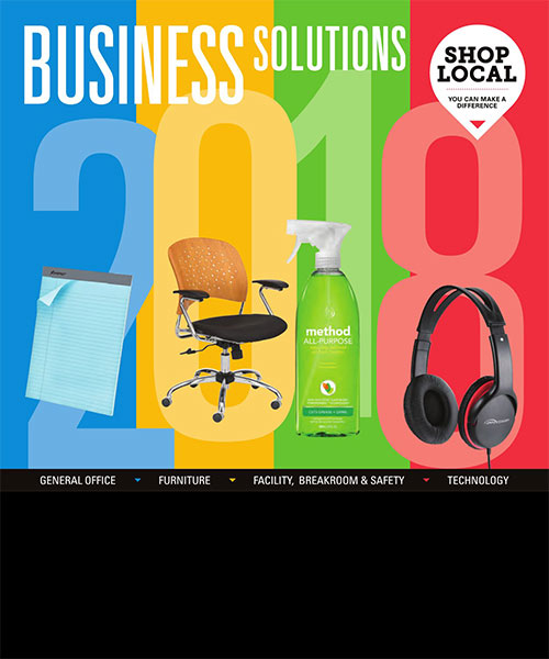 Business Solutions catalog cover