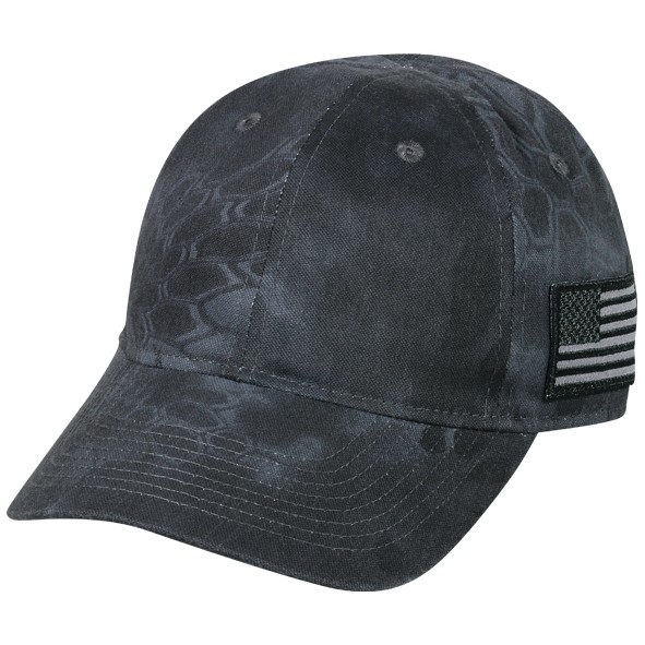 Tactical watch cap with American flag